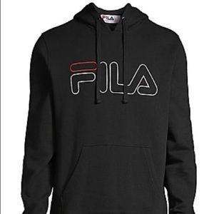 Fila Logo fleece hoodie